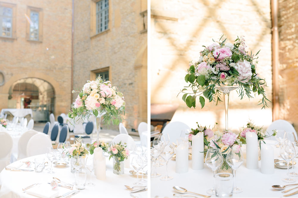 22 Fleurs De Fee Chateau De Bagnols Save The Date Photography